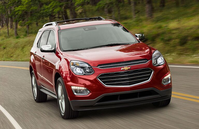 2017 Chevy Equinox Test Drive