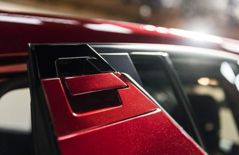 2018 Toyota C-HR door handles