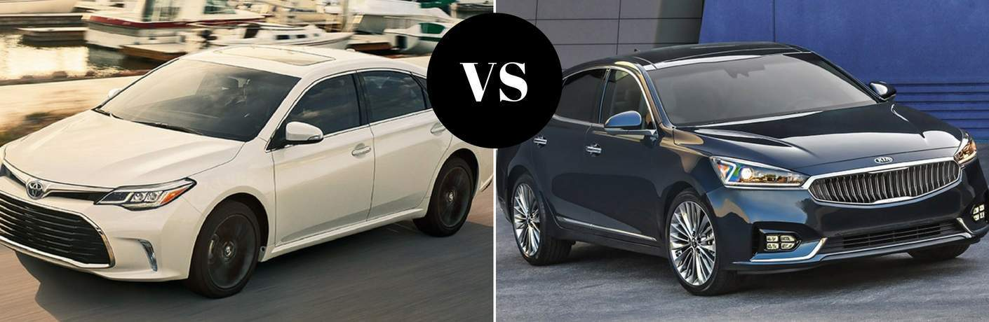 2018 Toyota Avalon vs 2017 Kia Cadenza