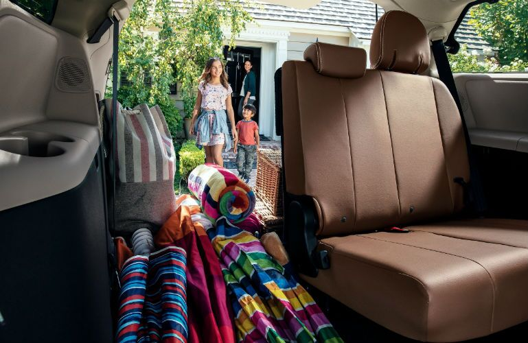 2019 Toyota Sienna with available 60/40 Split & Stow 3rd-Row seat