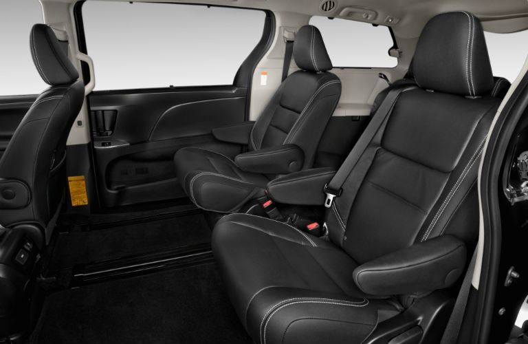 Captains chairs optional with 2017 Toyota Sienna in Lima, OH