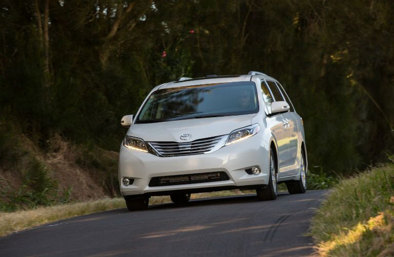 2017 Sienna in Lima, OH remains the only minivan with all-wheel drive