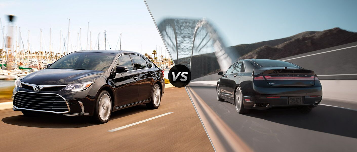 2016 Toyota Avalon vs. 2016 Lincoln MKZ