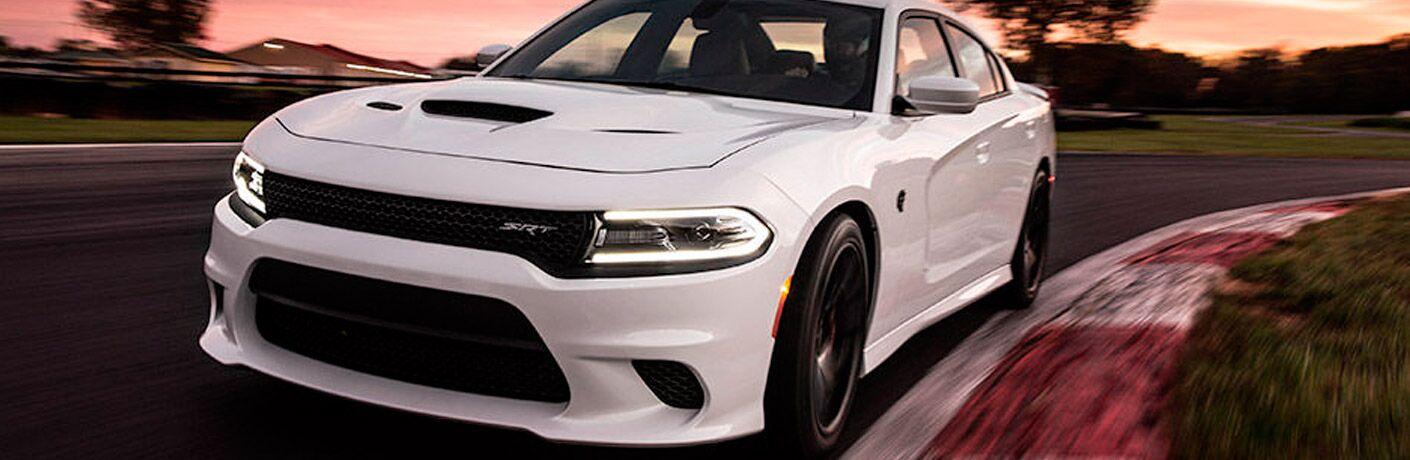Challenger Hellcat model in white
