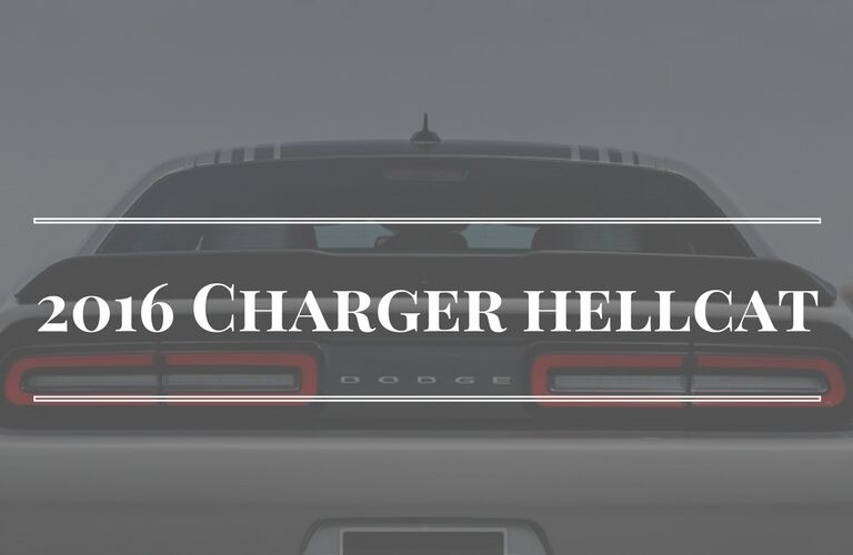 Dodge Charger rear end