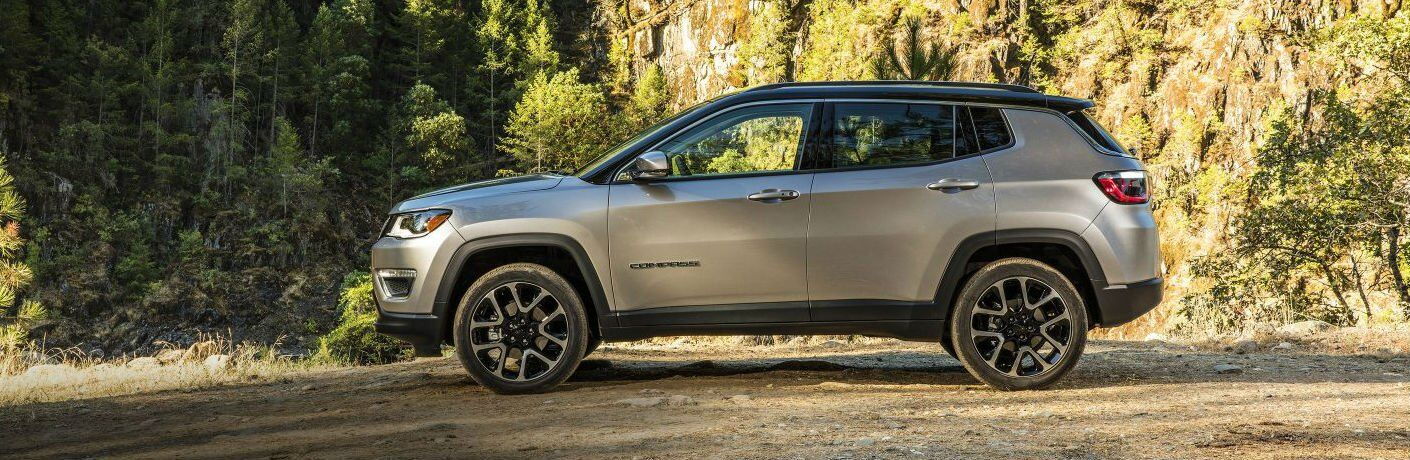 2017 Jeep Compass model side view