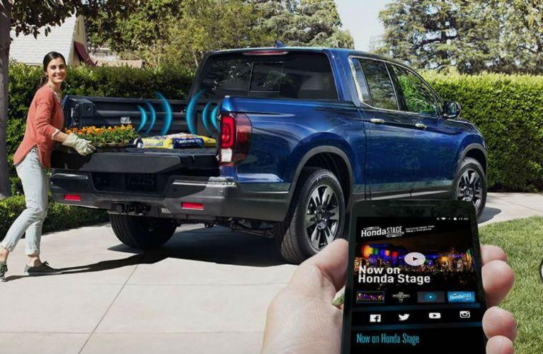 2019 Honda Ridgeline with Truck Bed Audio System
