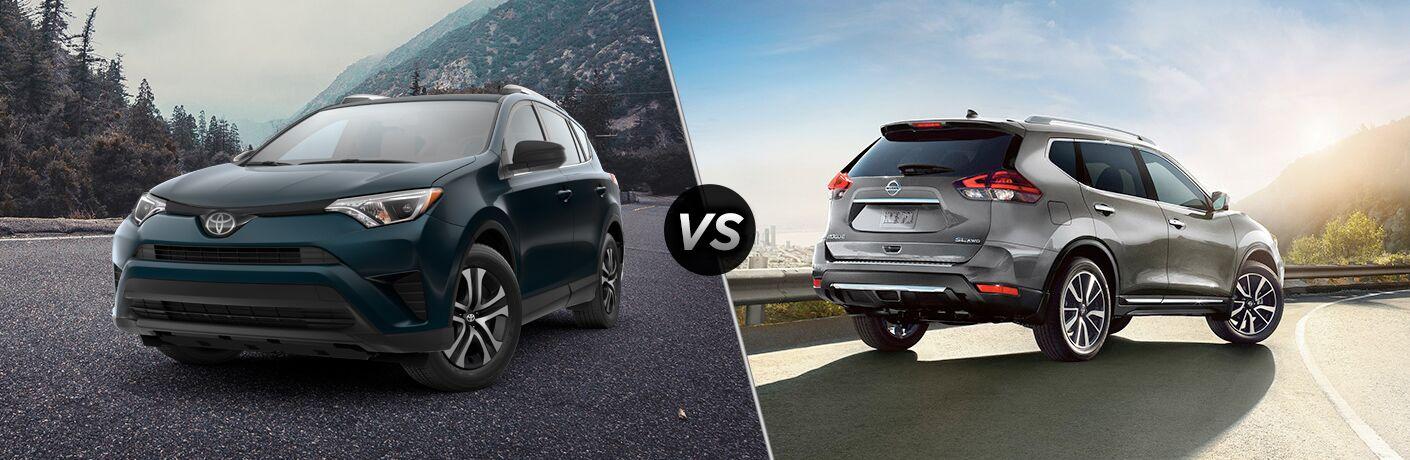 2018 Toyota RAV4 vs 2018 Nissan Rogue