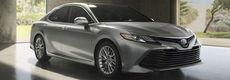 Gray 2018 Toyota Camry