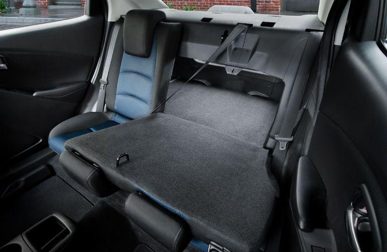 rear seats in 2018 Toyota Yaris iA