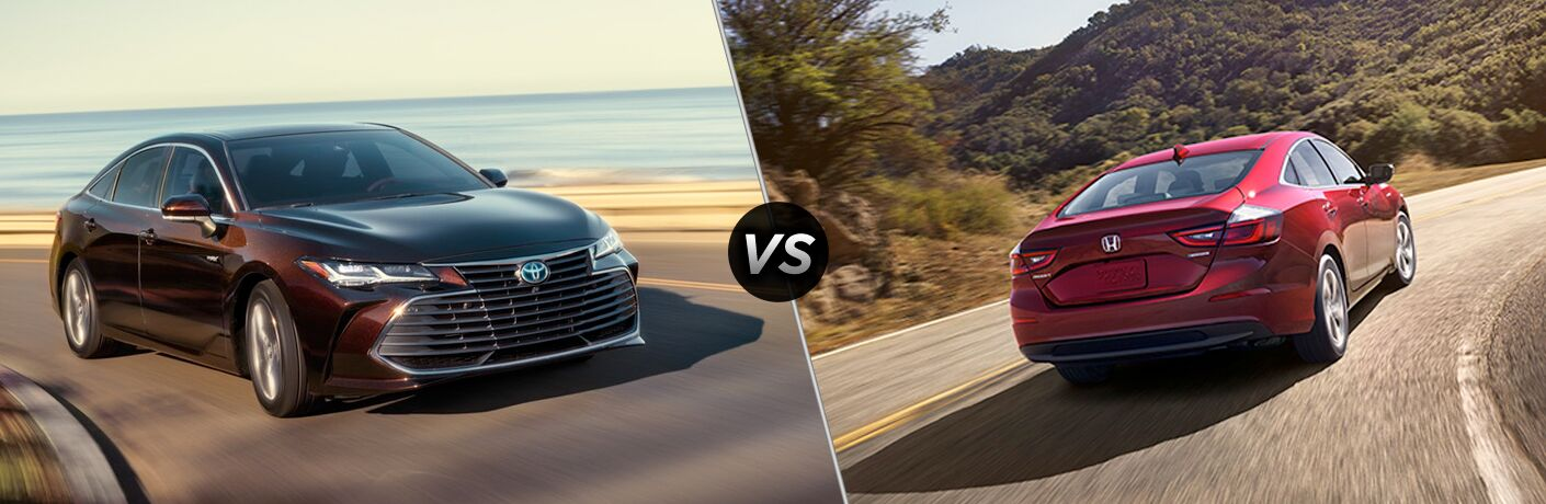 2019 Toyota Avalon Hybrid vs 2019 Honda Insight