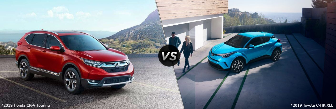 2019 Honda CR-V Touring vs 2019 Toyota C-HR XLE