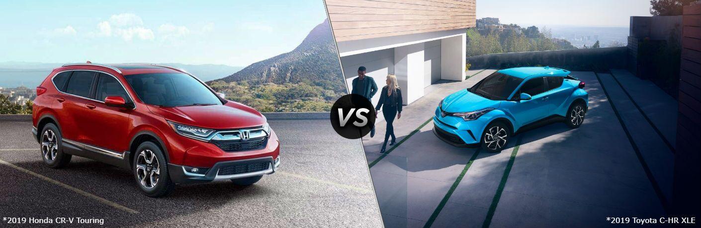 2019 Honda CR-V Touring vs 2019 Toyota C-HR XLE