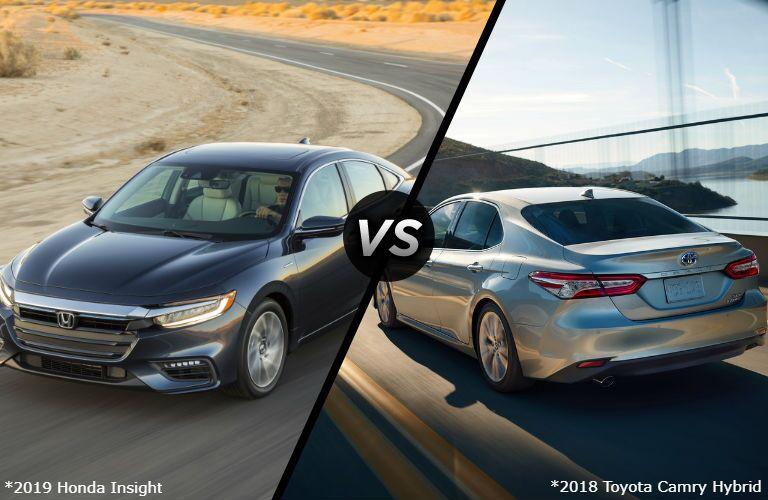 2019 Honda Insight vs 2018 Toyota Camry Hybrid