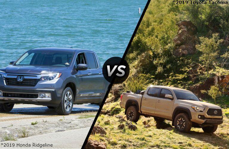 2019 Honda Ridgeline vs 2019 Toyota Tacoma