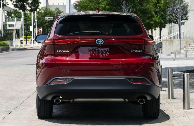 2021 Toyota Venza Exterior Rear Fascia