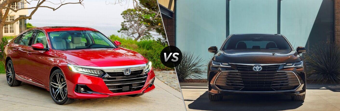 2021 Honda Accord vs 2021 Toyota Avalon