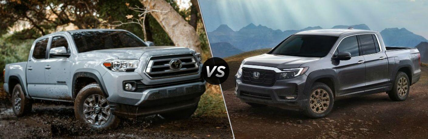 2021 Toyota Tacoma vs 2021 Honda Ridgeline