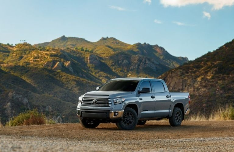 2021 Toyota Tundra Front Left-Quarter View