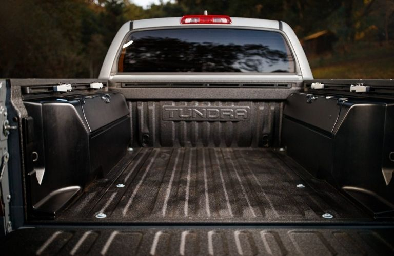 2021 Toyota Tundra View of Cargo Bed along with rear mirror