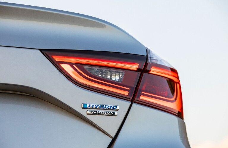 2022 Honda Insight Exterior Rear Fascia Close Up