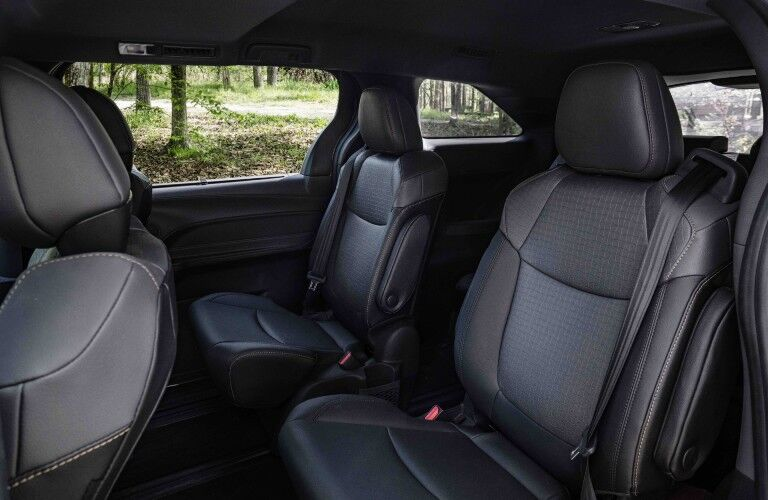 2022 Toyota Sienna Interior Cabin Seating