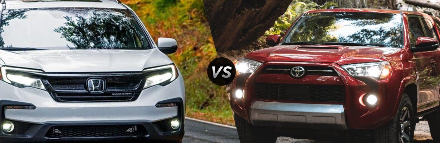 2022 Honda Pilot vs 2022 Toyota 4Runner