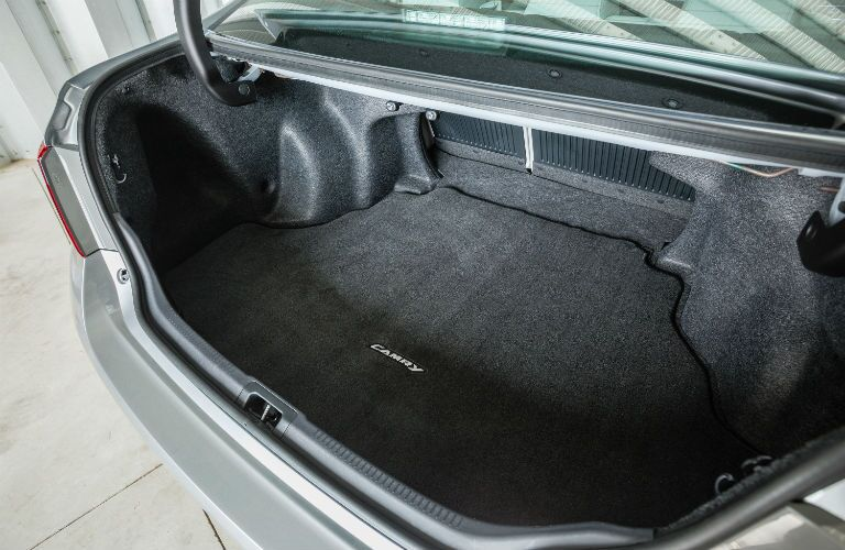 2017 Camry offers lots of trunk space in Lima OH