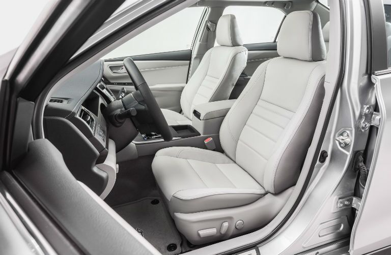 Upper trims offer outstanding upholstery options 2017 Toyota Camry in Lima, OH