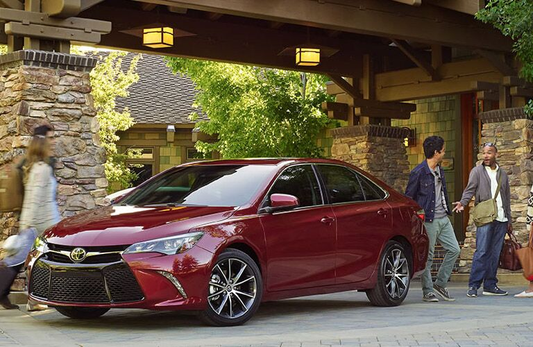 Passenger comfort is top priority in 2016 Camry vs. 2016 Nissan Sentra