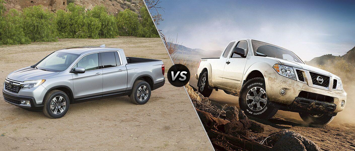 Honda ridgeline vs nissan frontier