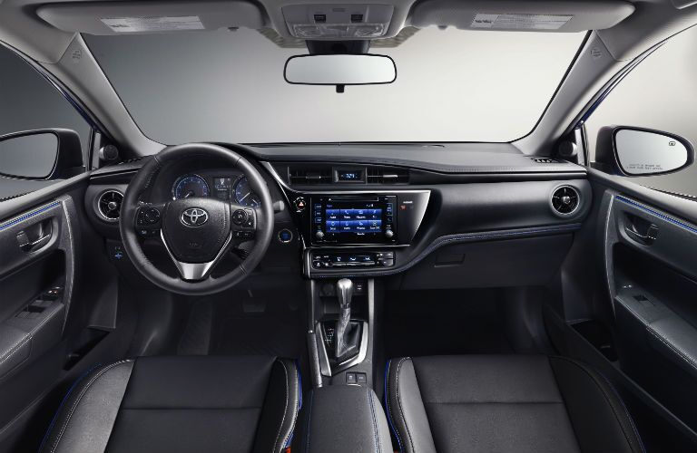 Updated interior 2017 Toyota Corolla in Lima, OH