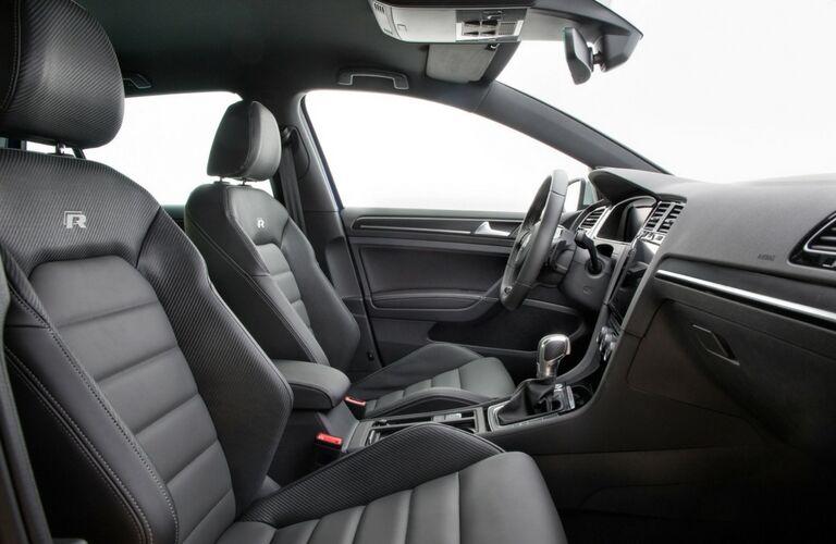 2019 Volkswagen Golf R interior