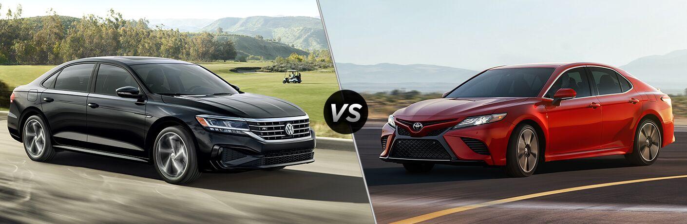 2020 Volkswagen Passat vs 2020 Toyota Camry
