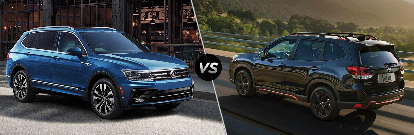 2020 Volkswagen Tiguan vs 2020 Subaru Forester