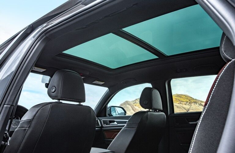 view of moonroof in 2020 Volkswagen Atlas Cross Sport