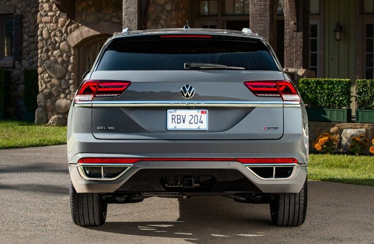 rear view of the 2020 Volkswagen Atlas Cross Sport