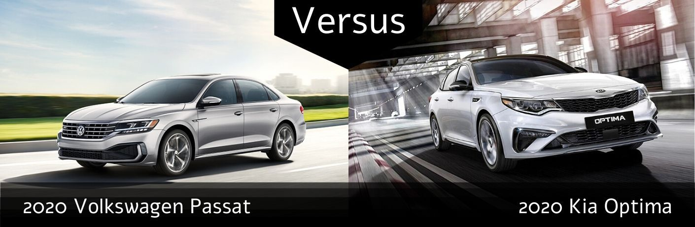2020 Volkswagen Passat R-Line vs 2020 Kia Optima