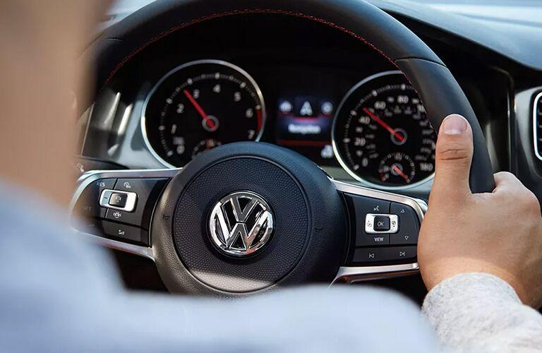 2021 Volkswagen Golf GTI gauge cluster