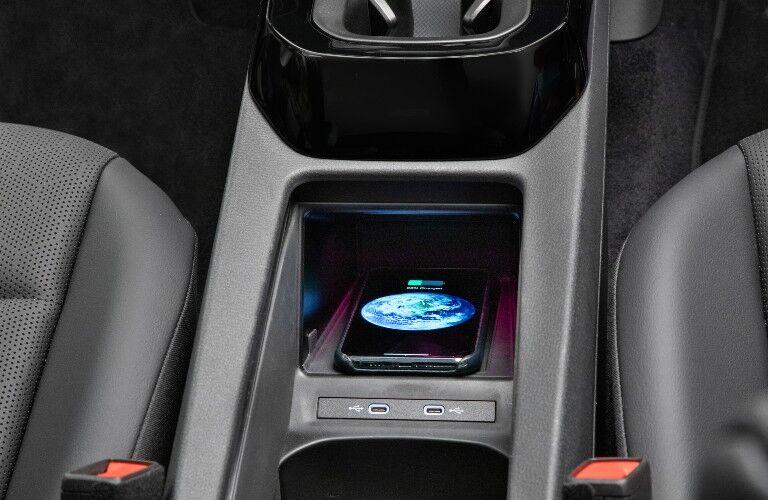 2021 Volkswagen ID.4 interior phone charging