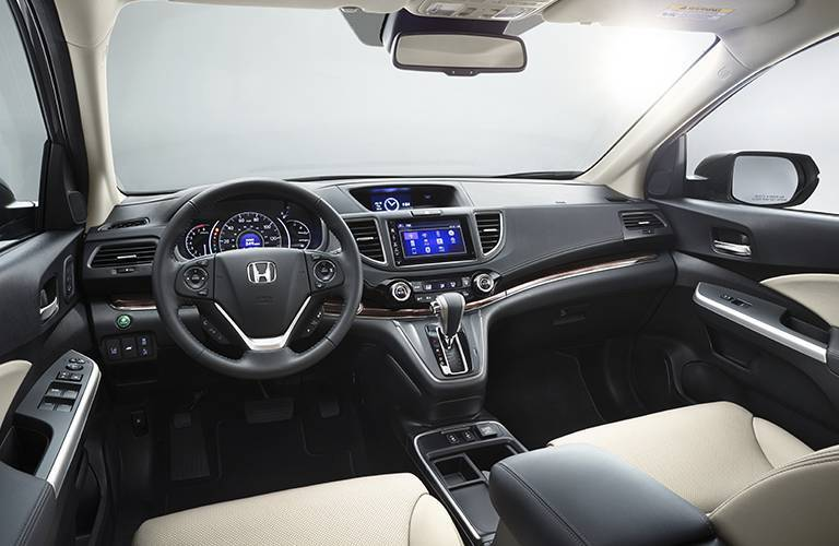 2016 Honda CR-V dashboard