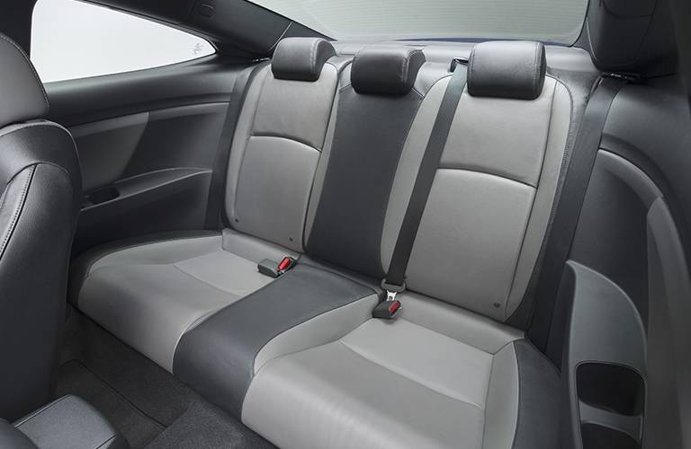 2016 Honda Civic Coupe rear seat