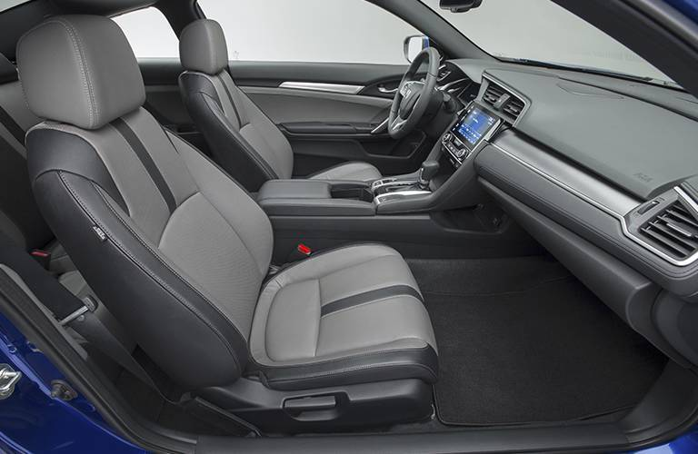 2016 Honda Civic Coupe front seats