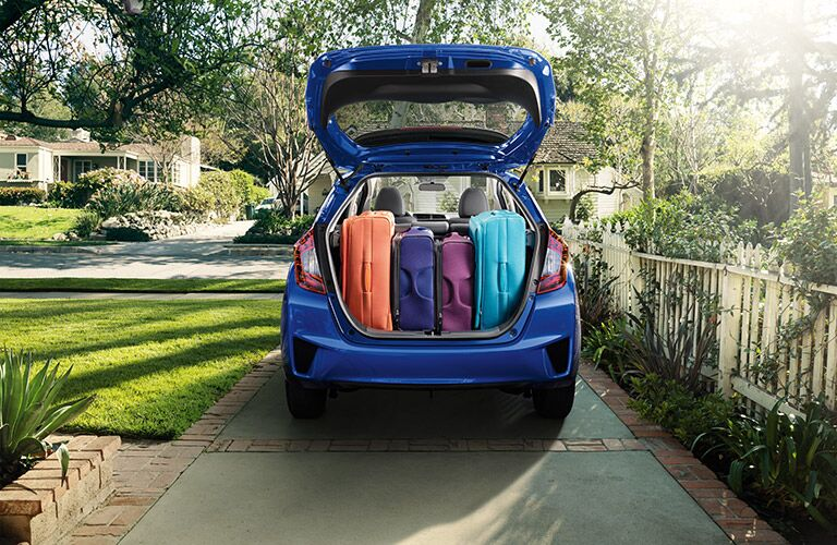 2016 Honda Fit storage space