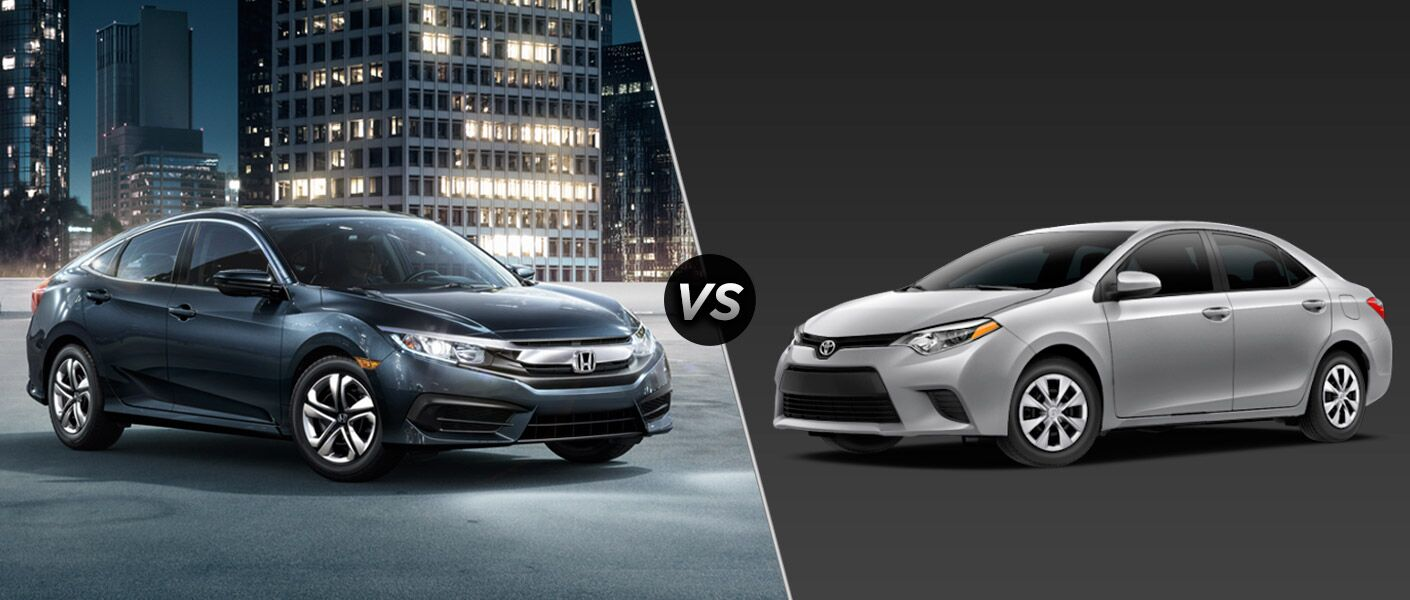 2016 Honda Civic Sedan LX vs 2016 Toyota Corolla L
