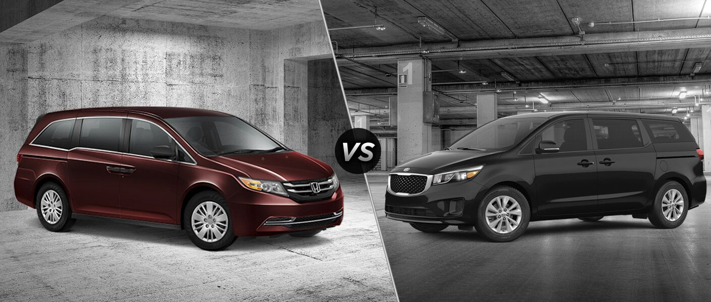 2016 Honda Odyssey LX vs 2016 Kia Sedona L