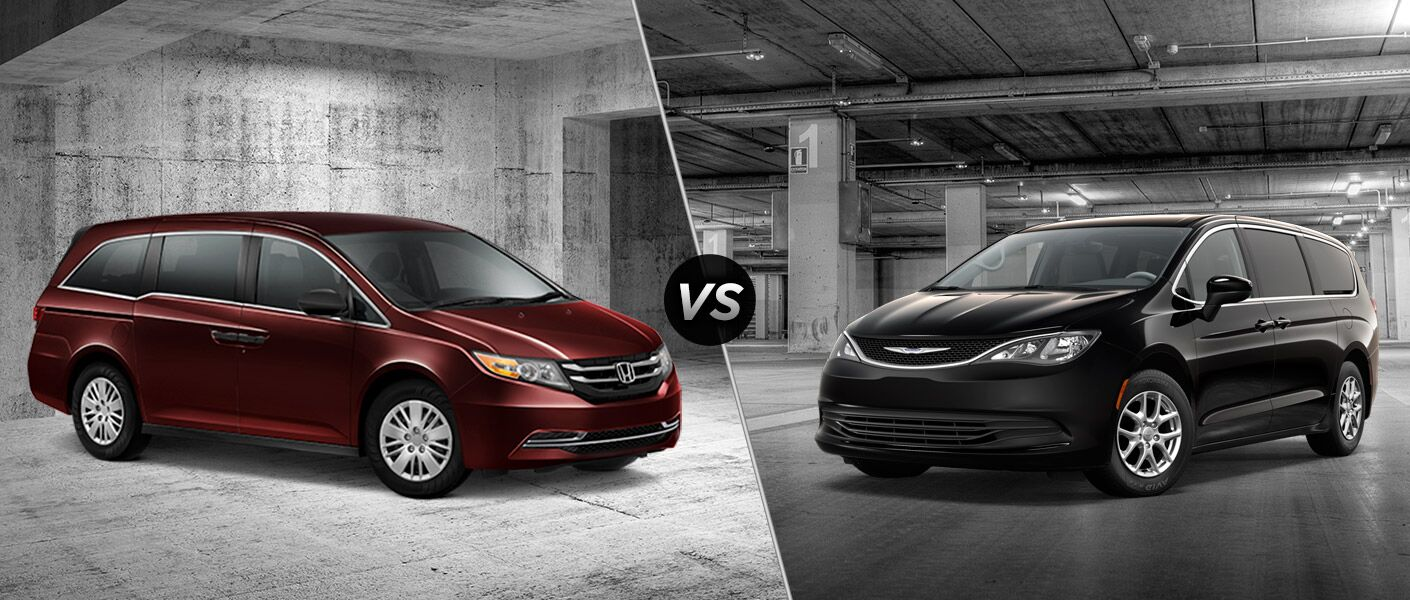2016 honda odyssey vs 2017 chrysler pacifica
