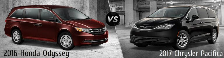 2016 honda odyssey vs 2016 kia sedona for Chrysler pacifica vs honda odyssey