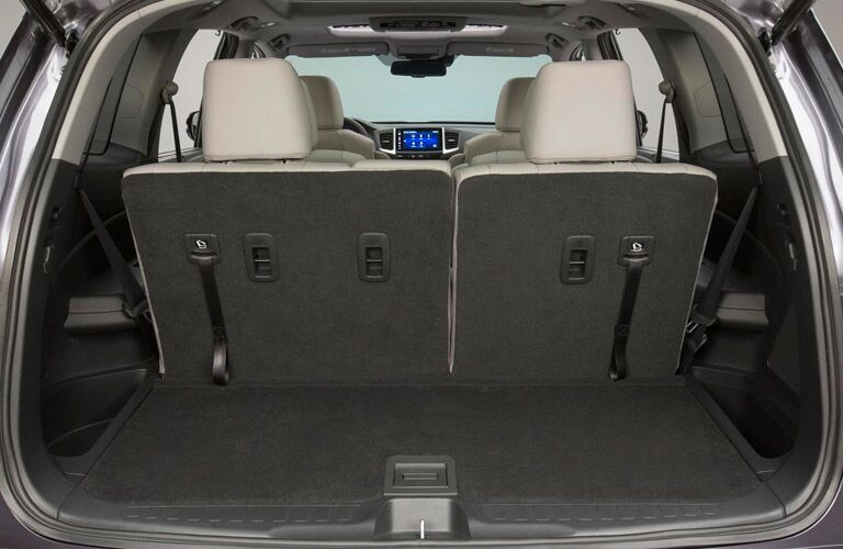 2016 Honda Pilot LX storage space