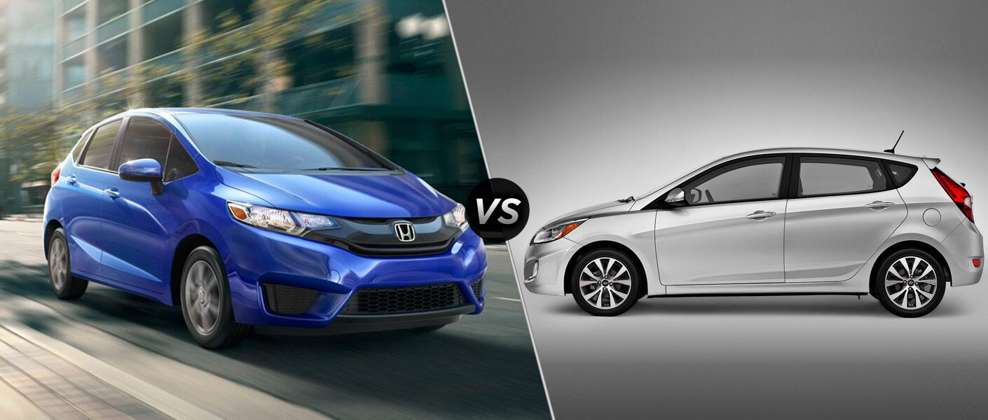 2016 Honda Fit LX vs 2016 Hyundai Accent SE Hatchback
